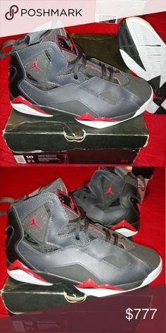 best website d8c08 56e9e JORDAN TRUE FLIGHT BLACK   GYM RED - ANTHRCT - WLF GRY... BRAND NEW...  NEVER WORN... Jordan Shoes Sneakers