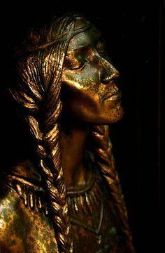 Lily of the Mohawks - Face by eyewashdesign: A. Golden, via Flickr