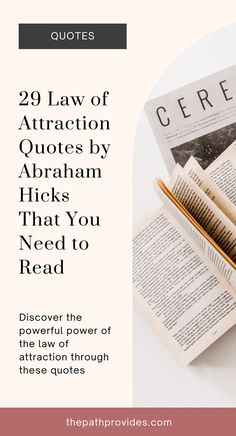 Discover 29 Abraham Hicks Quotes to inspire you to manifest your dreams to reality. abraham hicks quotes, abraham hicks quotes law of attraction, abraham hicks affirmations, abraham hicks quotes happiness, law of attraction quotes, manifestation law of attraction quotes, lawofattractionquote #manifestingquote #pinkquote #abrahamhicksquote #abrahamhicks #estherhicks #thepathprovides Manifestation Law Of Attraction, Law Of Attraction Affirmations, Law Quotes, Law Of Attraction Love, Pink Quotes, Abraham Hicks Quotes, Love Affirmations, Spiritual Awakening, Happiness