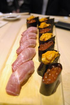 nigiri and gunkan - sushi