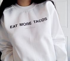 Eat More Tacos Crewneck Sweatshirt by MXLoutfitters on Etsy