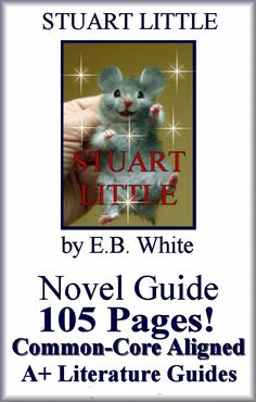 Only $5.00!! - 105 Common-Core Aligned Complete Literature Guide for Stuart Little. Everything a teacher needs to teach and test this novel!