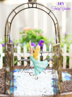 Easy DIY Fairy Garden | Decorchick!®