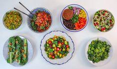 Vegan Salads for a Week - Rawvana