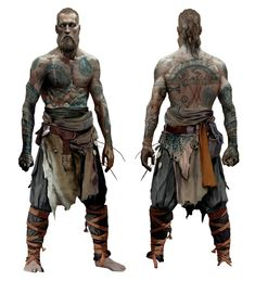 Baldur Concept from God of War