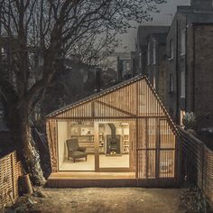 Shed Plans - Homeowners lucky enough to have outdoor space are replacing their garden sheds with studios, guest rooms and flexible work spaces. These are 12 of the best. - Now You Can Build ANY Shed In A Weekend Even If You've Zero Woodworking Experience! Ideas Cabaña, Writing Studio, Cabinet D Architecture, Architecture Journal, Architecture Design, Architecture Wallpaper, Dezeen Architecture, Architecture Panel, Drawing Architecture