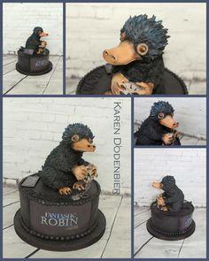 Niffler - Fantastic Beasts by Karen Dodenbier