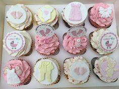 Luxury Baby -Shower Or Christening Party Cupcakes - Minimum order 24 Cupcakes Christening Party, Party Cupcakes, Dublin, Ireland, Bakery, Baby Shower, Luxury, Desserts, Dessert