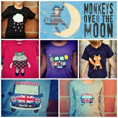 {2013) #applique #handmade #handstitched and print designs by #monkeysoverthemoon