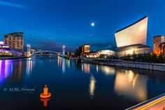 Salford Quay's by MOonlight by Kevin Ainslie on 500px