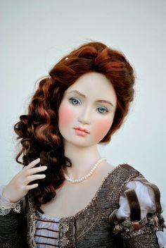 Galina Zaharova art dolls: Венеция, и моя новая фарфоровая кукла Лаура. Venice, and my new porcelain doll Laura.