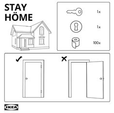 IKEA, Guinness, Audi and Nike encourage social distancing and staying home Ikea Hackers, E Online, Pax Wardrobe, Built In Wardrobe, Billy Ikea, Wood Screws, Furniture Companies, Survival Kit, Messages