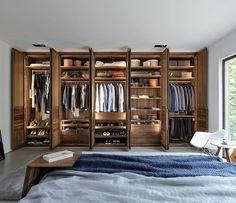 Luxury bespoke wardrobes