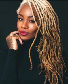 Natty Dreads Congo Bongo/Goddess/ with blond locs Coiffure Hair, Curly Hair Styles, Natural Hair Styles, Beautiful Dreadlocks, Dreadlock Hairstyles, Natural Hair Inspiration, Black Girls Hairstyles, Textured Hair, Hair Makeup