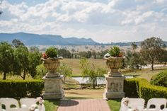 Sebel Kirkton Hunter Valley wedding ceremony outlook. Image: Cavanagh Photography http://cavanaghphotography.com.au