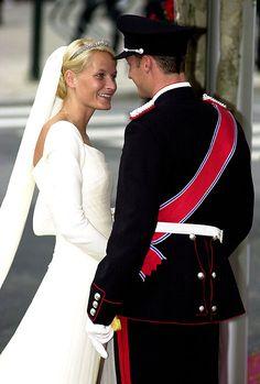 crown prince haakon & crown princess mette-marit of norway