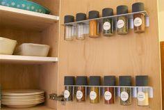 kitchen cabinet open slide door rack - Google 검색