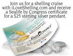 Sealife By Congress seashell jewelry on Sanibel Island Florida