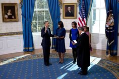 Obama Sworn In for 2nd Term, This Time Quietly