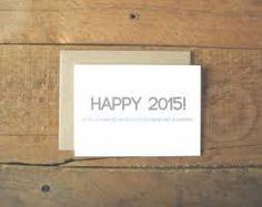 Happy New Year Holiday Photo Cards 2015