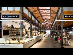 Two hours in Madrid at the San Miguel market Mercado San Miguel Madrid, Mercado Madrid, Mercado San Anton, Hall Interior, Restaurant Interior Design, Shop Interior Design, San Miguel Market, Gourmet, Sustainable Architecture