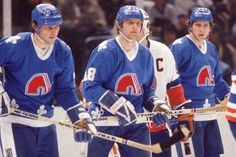 Peter, left, Marian, center, and Anton Stastny all defected to North America from the former Czechoslovakia.
