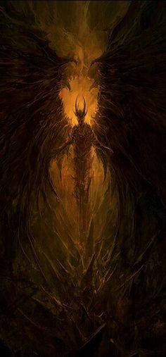New Fire Monster Concept Art Deviantart Ideas Dark Fantasy Art, Fantasy Kunst, Fantasy Artwork, Dark Art, Arte Horror, Horror Art, Fantasy Creatures, Mythical Creatures, Illustration Fantasy