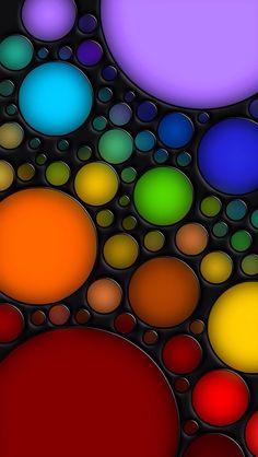 Colored Bubbles                                                       …