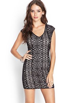 Floral Lace Bodycon Dress from Forever 21