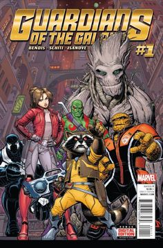 Peter Quill has abandoned the Guardians and his role as Star-Lord to be Emperor of the Spartax. Rocket didn't wait a single minute to take the reins and become team leader of Drax, Venom, Groot, Kitty