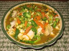 "Chicken and vegetable soup from the blog ""Always Learning"" (great blog with lots of interesting and encouraging marriage advice!)"