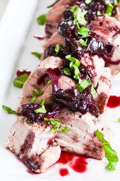 21 Day Fix Cherry Balsamic Pork