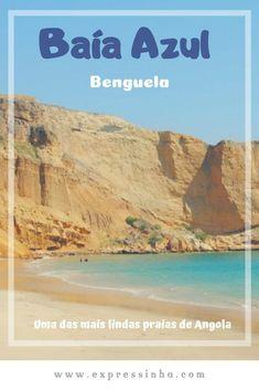 Angola Turismo - Benguela e uma das mais lindas praias de Angola, a Baía Azul, um paraíso ainda inexplorado! #africa #angola #benguela #baiaazul #viagem