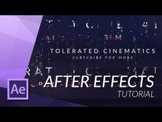 HOW TO CREATE AN EPIC GLITCH INTRO IN AFTER EFFECTS - YouTube