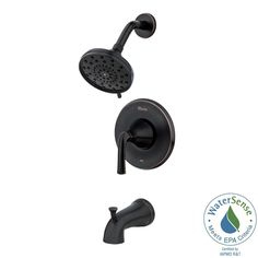Pfister Ladera Single-Handle 3-Spray Tub and Shower Faucet in Spot Defense $137 Brushed Nickel