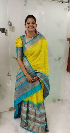 Best 12 Yellow2 @samvritha_sunil. . . . . . . . . . . #kerala #india #malayalam #chennai#tiktok #love – #blousedesigns #blousedesigns2018 #blousedesignsBlue #blousedesignsBoatNeck – SkillOfKing.Com Pattu Saree Blouse Designs, Blouse Designs Silk, Designer Blouse Patterns, Bridal Blouse Designs, Simple Blouse Designs, Stylish Blouse Design, Amai, Silk Sarees, Organza Saree