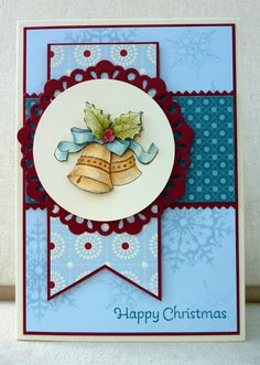 by Amy White, White House Stamping: Bells in Blues...