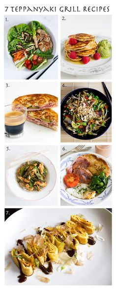 7 Easy and Tasty Teppanyaki Grill Recipes