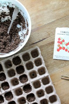 Planting heirloom seeds