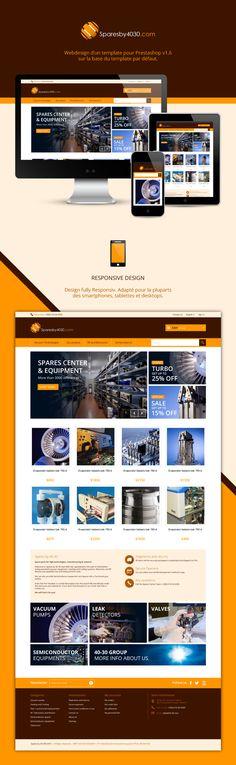UX-UI Design pour un site conçu avec Prestashop #webdesign #cms