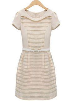 Adorable apricot dress