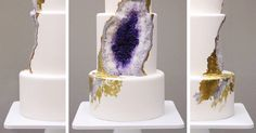 Amethyst Wedding Cake Whose Baker Was Clearly Under A Lot Of Pressure | Bored Panda