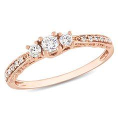 7 #Stunning Rose Gold Engagement Rings...