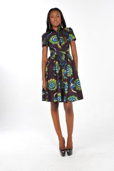 African Print  Binti Msomi Dress by Bongolicious1 on Etsy, $45.00