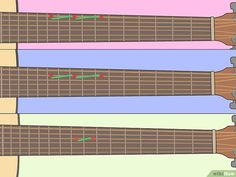 How to Learn Guitar Scales (with Pictures) - wikiHow Basic Guitar Lessons, Online Guitar Lessons, Art Lessons, Learn Guitar Beginner, Guitar For Beginners, Guitar Chords For Songs, Guitar Tips, Easy Guitar, Music Guitar