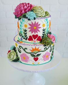 Cake Art Buttercream Frosting Leslie Vigil Wanna learn to make these dahlias/succulents Piping Icing, Buttercream Frosting, Cupcakes, Cupcake Cakes, Shoe Cakes, Beautiful Cakes, Amazing Cakes, Patterned Cake, Baking And Pastry