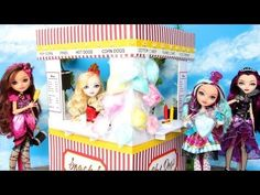 How to Make a Doll Concession Stand - YouTube