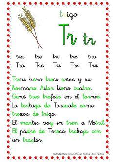 ESOS LOCOS BAJITOS DE INFANTIL: CARTILLA DE LECTURA Kids Homework, Maila, Calligraphy Letters, Spanish Language, First Grade, Phonics, Homeschool, It Cast, Lettering
