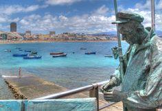 El pescador y el mar, recuerdos de vidas pasadas  y de mundos de explorar - Foto de Juan Ramon Rodrieguez