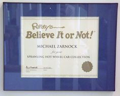 Ripley's Believe It or Not!  #guinnessworldrecords #ripleys #hotwheels #mattel